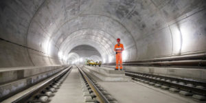 The secrets of the world's longest concrete tunnel
