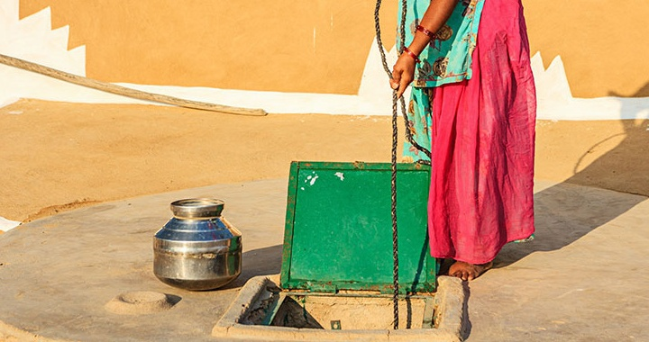 How can cement ensure clean water and sanitation for the world's growing urban population?